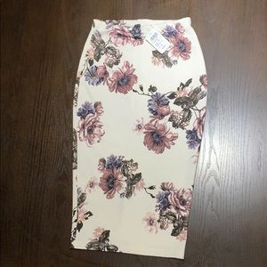 Windsor Floral Skirt: Small
